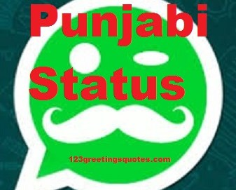 Top Punjabi Status for Whatsapp & FB on Funny LOVE Life