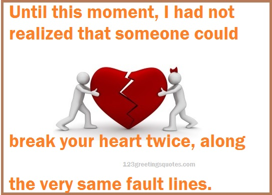 Broken Relationships Pictures with Sad Quotes