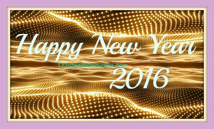 new year 2016 first wishes