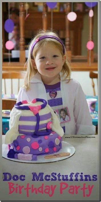 Super Cute Doc Mcstuffins Party For Preschoolers