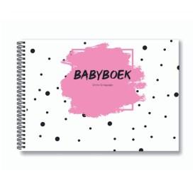 Babyboek roze