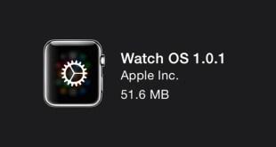 nouveautes watch os 1.0.1