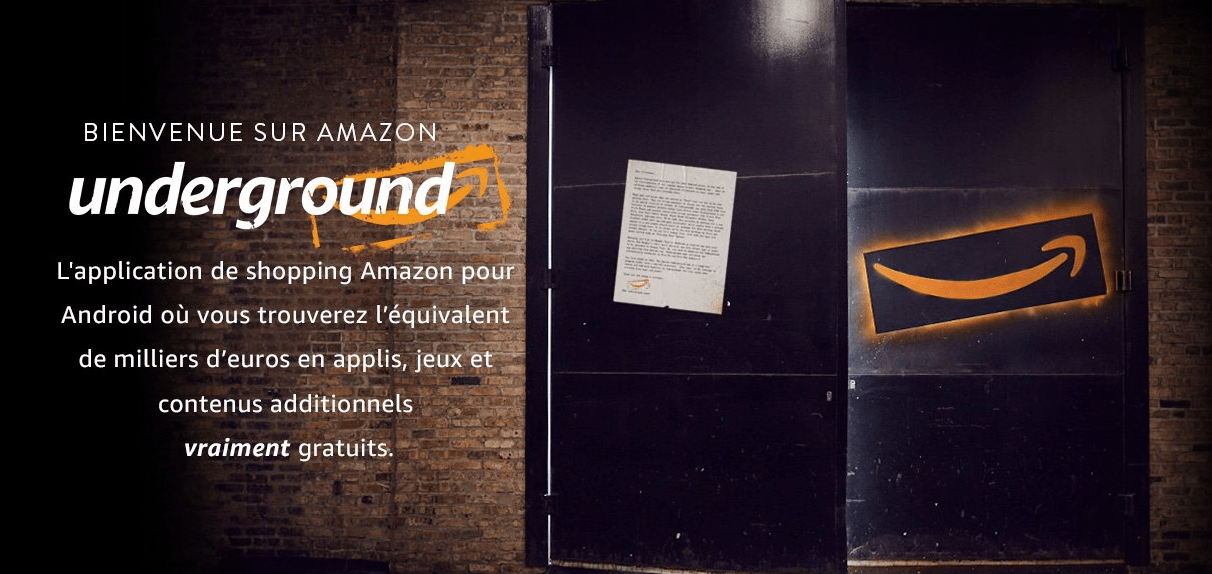 amazon underground-applications gratuites