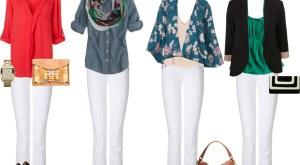 seluar jeans putih