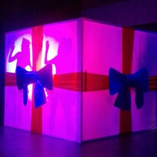 18a -Openingshandelingen - openingsact - kado - cadeau - schimmenspel