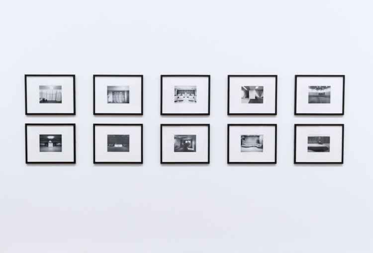 frames on white background