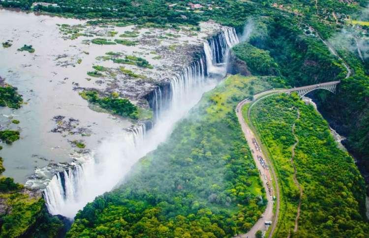 Victoria Falls, Zimbabwe & Zambia