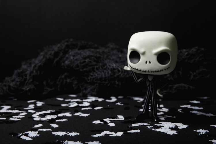background black black and white creepy
