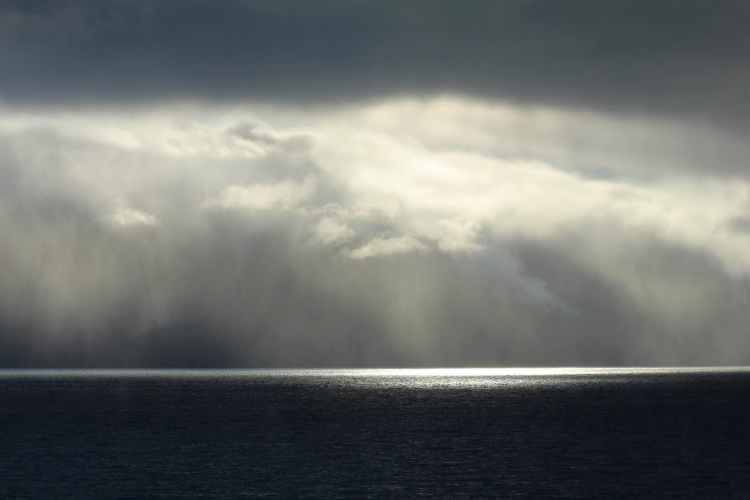 light sea landscape water