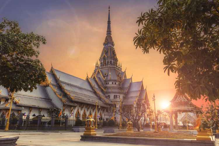 ancient architecture asia buddhism