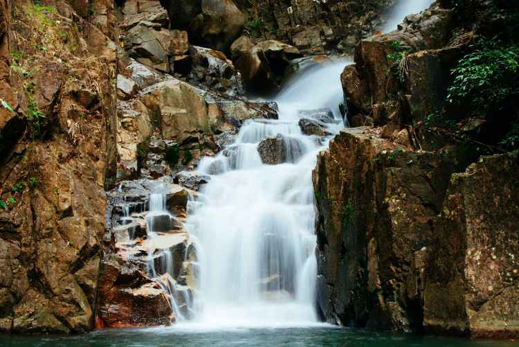 waterfalls illustration