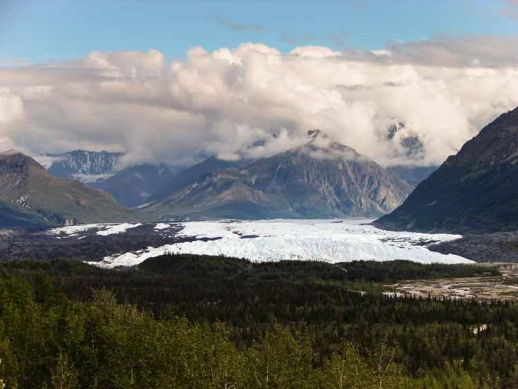snow landscape mountains nature