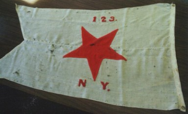 123rd Regiment guidon flag