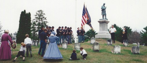 130th Anniversary of the Civil War, Salem NY 1995