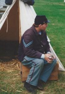 Reenactor from 1995