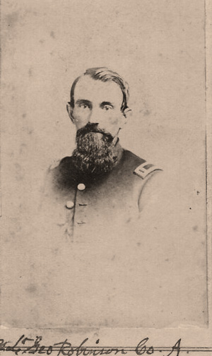 Lt. George Robinson, Co. A