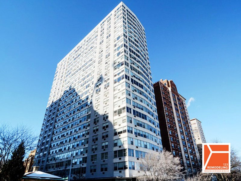 High-Rise Condo Remodel – 3900 N Lake Shore Dr, Chicago, IL (Lakeview)