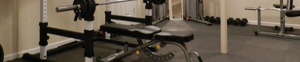 Finished Basement Gym