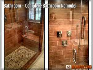 Completed Bathroom Remodeling Chicago