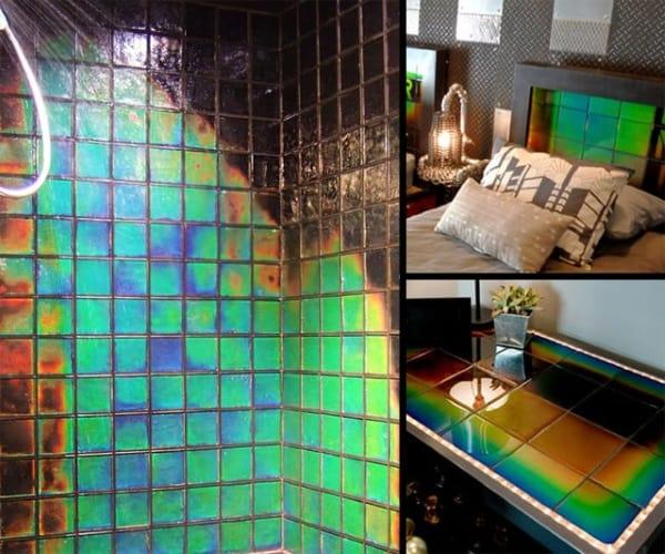 heat sensing tile