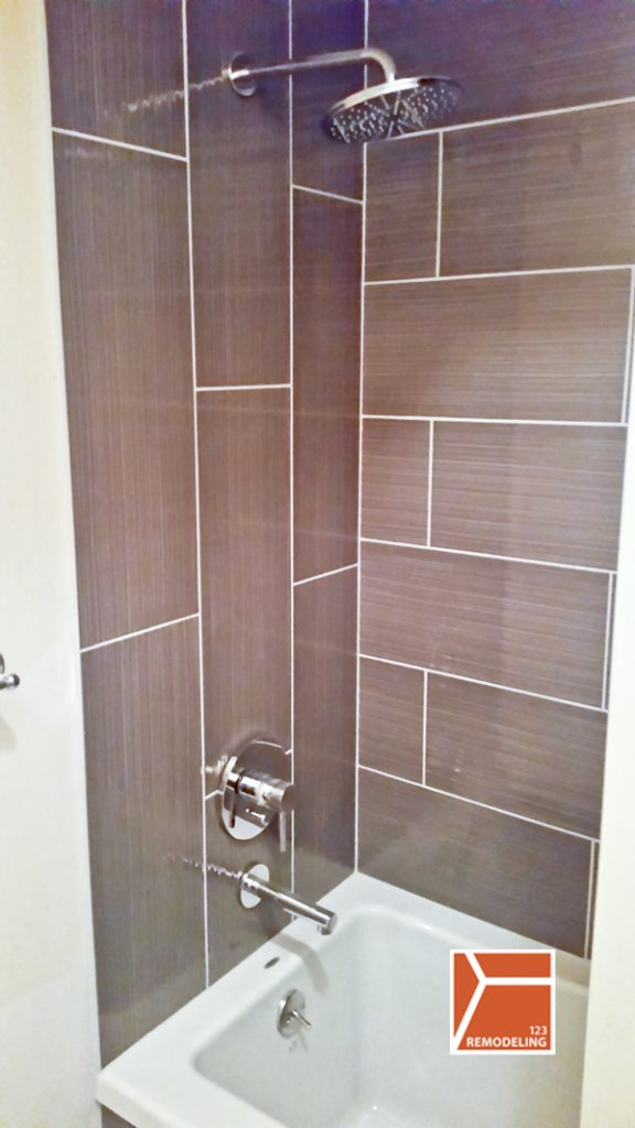 After Condo Bathroom Remodel - 165 N Canal St, Chicago, IL (West Loop)