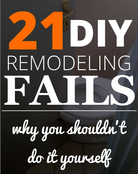diy remodeling fails