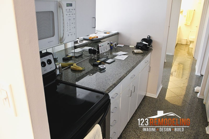 Before Kitchen Remodel - 111 E Chestnut, Chicago, IL (Magnificent Mile)