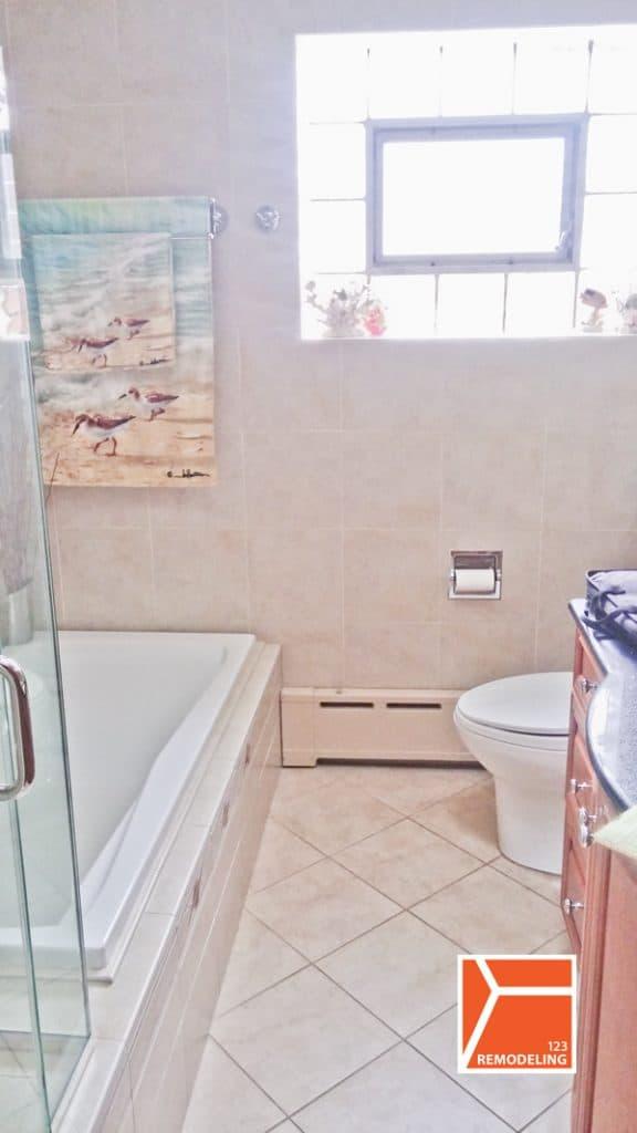 Jefferson Park Bathroom Remodel   After. Chicago Bathroom Remodeling