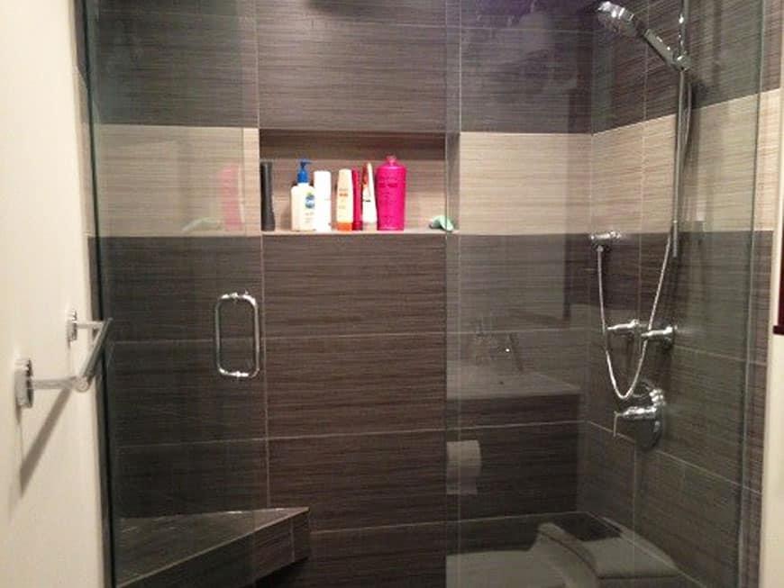 Condo Guest Bathroom Remodel 100 E Huron St Chicago IL River