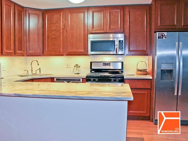 After Condo Kitchen Renovation - 400 E. Randolph St, Chicago, IL (New Easr Side)