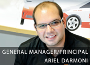 ariel main image project manager page