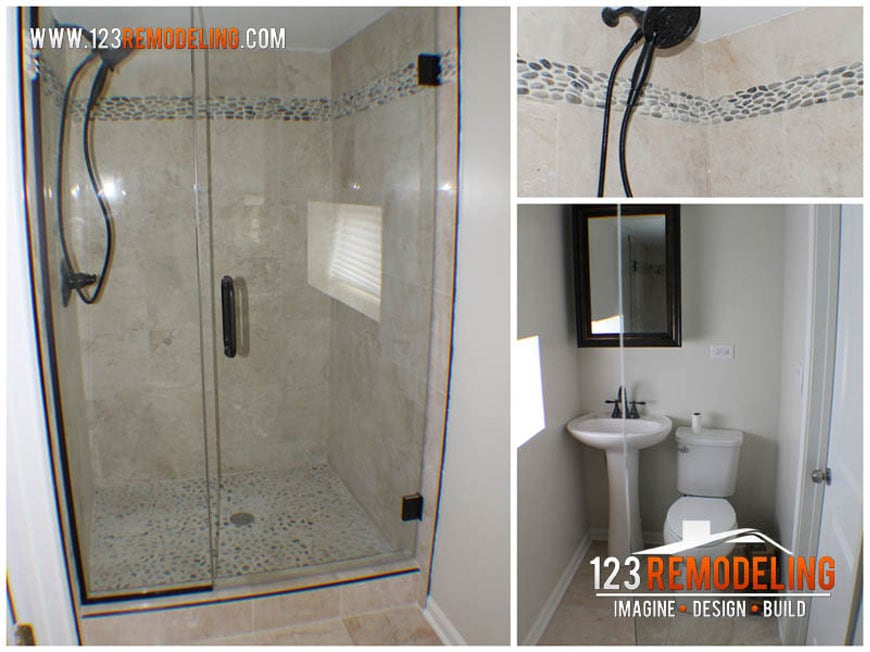 Oak Park Guest Bathroom
