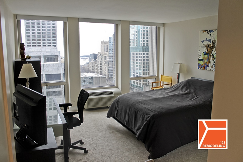 After Bedroom Remodel - 111 E Chestnut St, Chicago, IL (Magnificent Mile)
