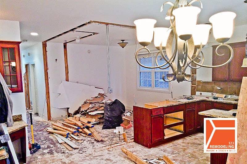 Before Condo Kitchen Remodel - 427 W. 37th Pl, Chicago, IL (Bridgeport)