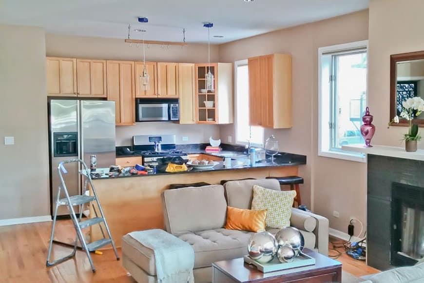 Condo Kitchen Remodel   1029 N. Hermitage Ave, Chicago, IL (Wicker Park
