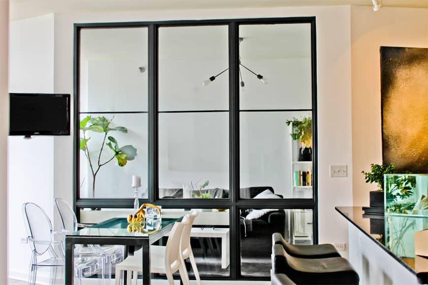 Condo Living Room Window/Wall Installation - 330 W Grand Ave, Chicago, IL River North