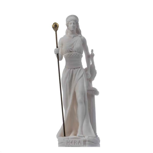 Hera Goddess of marriage, women, childbirth, and family Alabaster 6.69″