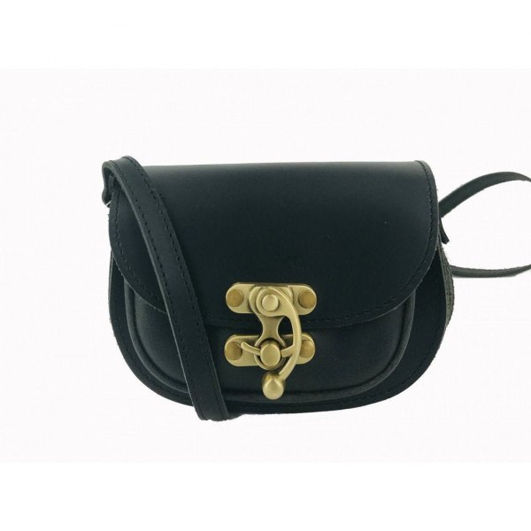 Leather Shoulder Bag Handmade Design Natural Tan Beige Brown Black Cross Body Satchel Vintage Saddle Handbag Purse SS