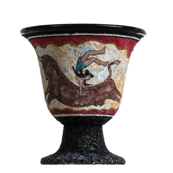 Pythagoras Cup of Justice Pythagorean Fair Mug Ancient Greek Minoan Fresco Bull-Leaping
