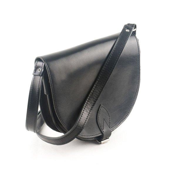 Leather Shoulder Bag Handmade Natural Beige Black Dark Brown Rose Gold Silver Cross Body Satchel Vintage Saddle Handbag Purse