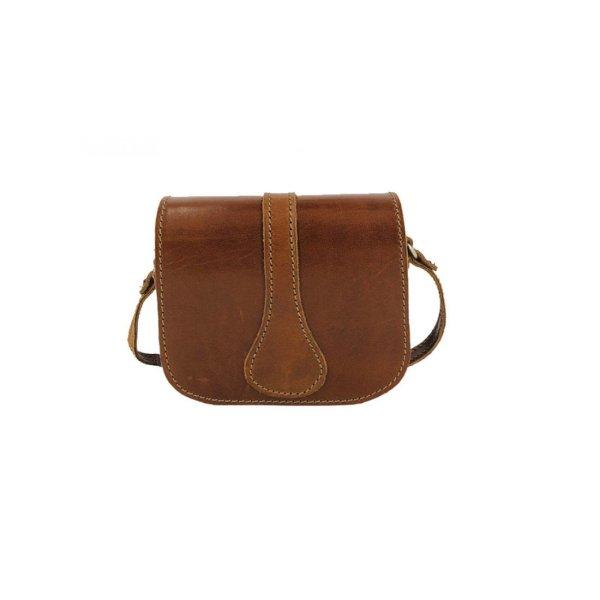 Leather Shoulder Bag Handmade Design Natural Beige Brown Black Cross Body Satchel Vintage Saddle Handbag Purse ss