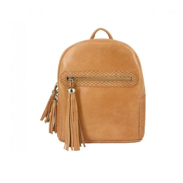 Vintage Leather Backpack Satchel Rucksack Knapsack Travel bag Messenger Bag Men Women Brown Black Beige handbag Briefcase Tassel Zipper