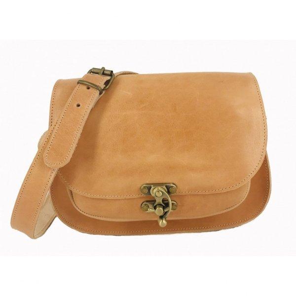 Leather Shoulder Bag Handmade Design Natural Tan Beige Brown Black Cross Body Satchel Vintage Saddle Handbag Purse Large