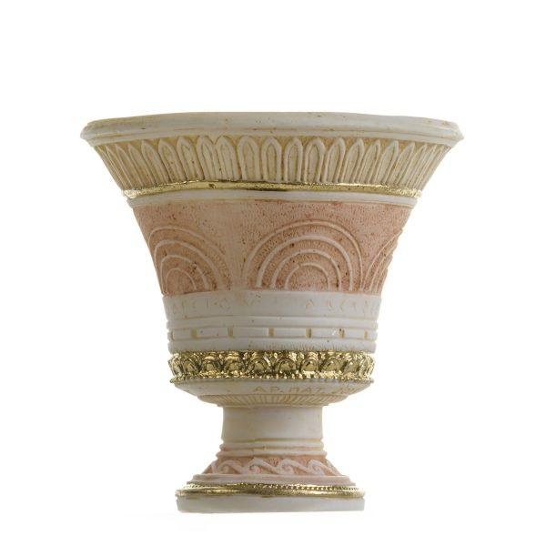 Pythagoras Cup of Justice Pythagorean Fair Mug Ancient Greek Decorative Cup Gold Tone