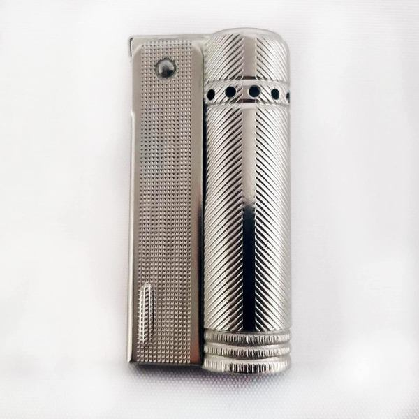 Vintage IMCO Lighter Junior 6600 Made in Austria Silver Lines New Old Stock