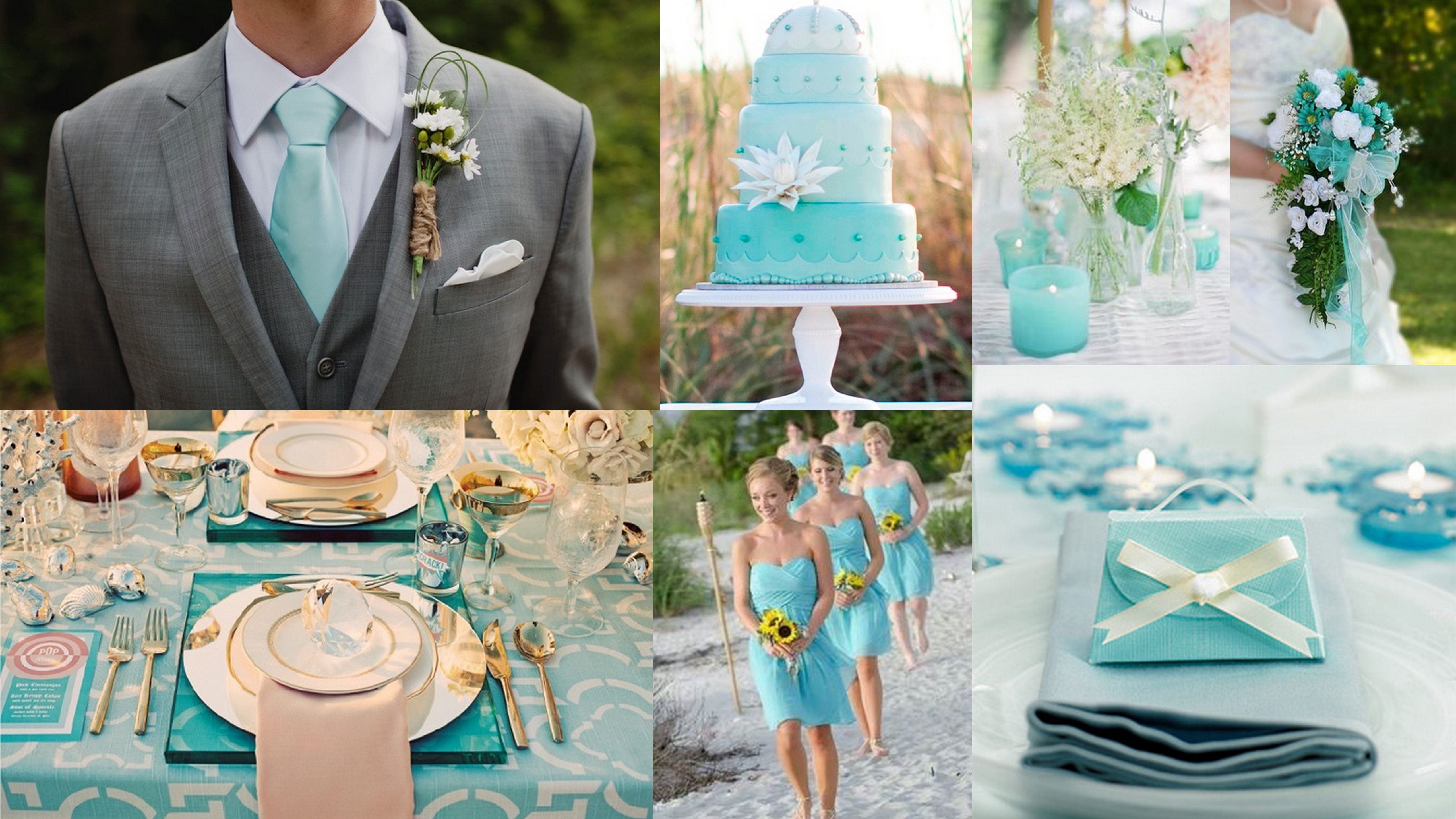 Top 5 Color Theme For Spring Wedding