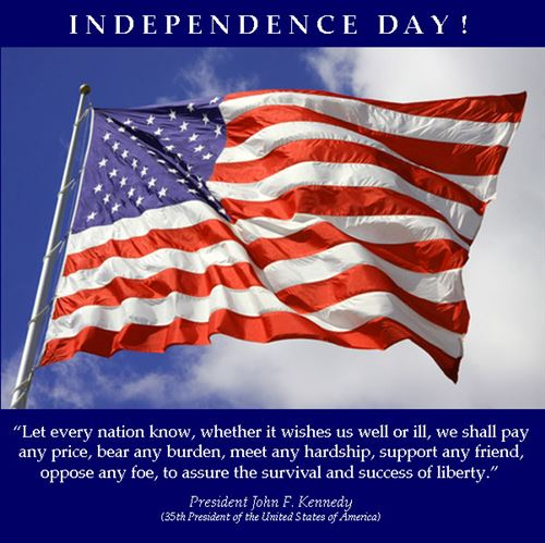 American Independence Day Wishaes Messages