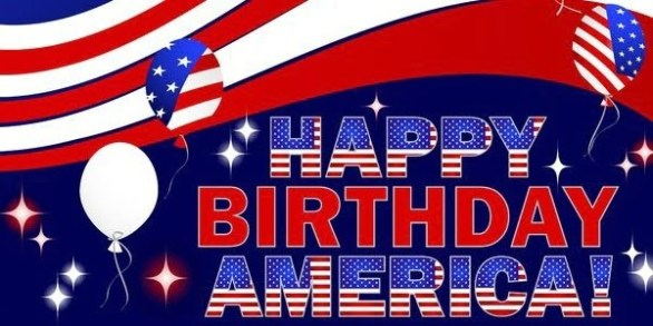 Happy Birthday 4th of July Images