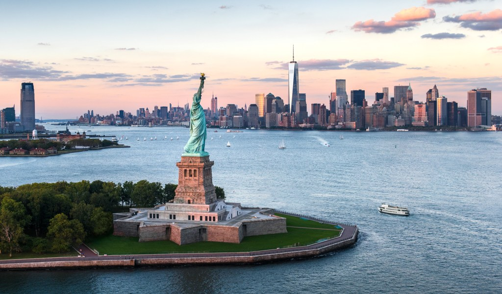 Lady Liberty, image credit: https://www.statuecruises.com
