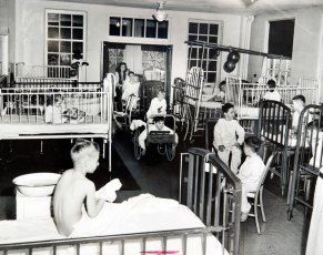 #TBT 1947 Polio